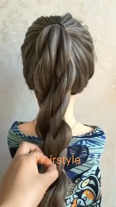 Cool Hairstyles For Girls, Work Hairstyles, Haircuts For Long Hair, Braided Hairstyles, Front Hair Styles, Medium Hair Styles, Hair Style Vedio, Hair Tutorials For Medium Hair, Easy Updos For Long Hair