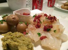 Lutefisk, traditional Norwegian food