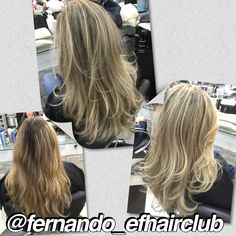 #ombrecarioca  #efhairclub  #fabricadeloiras #opoderdasmechas  #amagiadascores #cabelospoderosos #lourodesalao  #autoridadeemmechas #ombre #ombrehair   #mechas #salao #balayage #luzes #blondgirls #blonde #blondlife #cutcolor  #highlights #salon #salonlife #instahair #hairdresser #hairstylist #btcpics #hairpost #beautifulhair #moda #cabelos #divas #instaglam @fernando_efhairclub