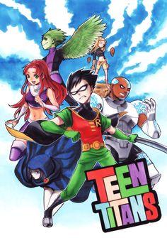 Teen Titans Fan Art