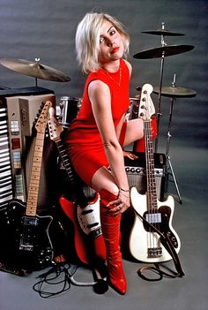 Debbie Harry. She was one of my first favorite musicians!