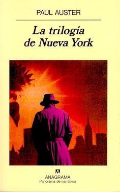 ¡Tres en uno! Son tres libros (historiazas) unidos por una misma ciudad (Nueva York). ¡Ahhhh! ¿sabes?: Según mi humilde opinión, con Auster siempre vas a la segura.