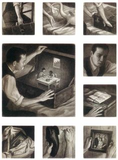 "From ""The Arrival"" by Shaun Tan...one of my favorite all time books."