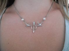 Hunger Games inspired necklace. <3 must.have.