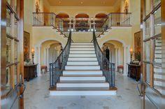 double staircase design - Google Search