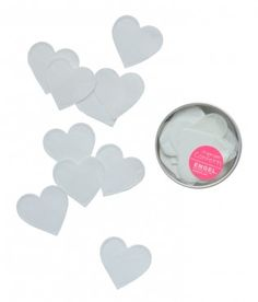 Paper confetti hearts from ENGEL.
