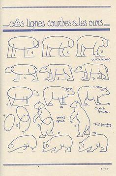 #Animales #Naturaleza #Dibujos #Ilustraciones #Afiches #Osos