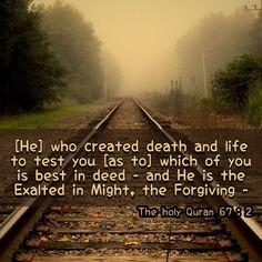 Holy Quran, Railroad Tracks, Forgiveness, Holi, Death, Life, Quran, Train Tracks