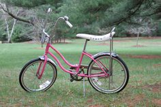 I do believe that I had one just like this with streamers hanging out of the handle bars! lol