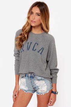 RVCA Department RVCA Grey Sweater