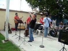 Los Cotry performing Rio Rebelde on grandma's party...