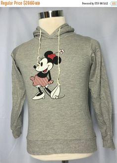 SALE 30% Walt Disney Minie Mouse Girl Sweatshirt Medium Disney Mickey Mouse Minie Mouse Girl Mickey Mouse Tokyo Disney Hoodie Girl's Size M by MudeanDean