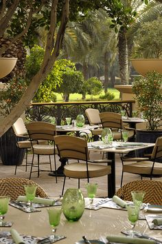One & Only Royal Mirage, Dubai - Olives Terrace