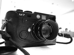 Leica M7 - the camera I've used most, before digital kicked in. Beautiful.