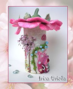 Felt Fairy House by Irina Orlova ♥                                                                                                                                                                                 More