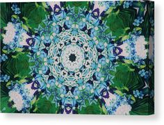 01151 Canvas Print featuring the digital art 01151 by A