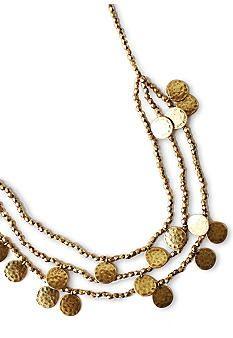 Lucky Brand Jewelry Collar Necklace - More Details → http://myclothingwebsitesforwomen.blogspot.com/2012/09/lucky-brand-jewelry-collar-necklace.html.