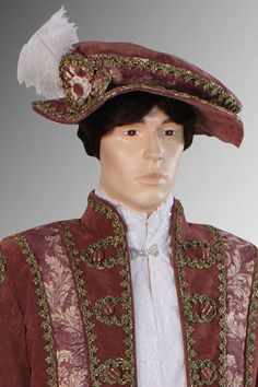 Medieval Style Renaissance Hat Cap Costume by YourDressmaker