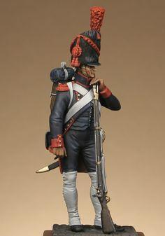 Artilleryman on foot of the Guard, France.