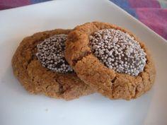 Flourless Almond Thumbprint Cookies