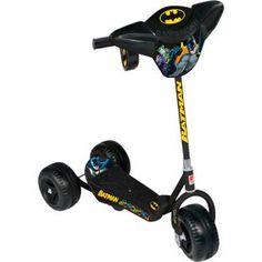 Patinete Bandeirante Batman, uma diversão para seu filho.    O patinete infantil com a tradição da Brinquedos Bandeirante.