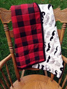 The Lumberjack Quilt. Buffalo Plaid with by LoveGrettaShop on Etsy