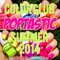 Color Club Poptastic Collection