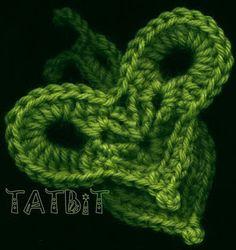 i heart this lol ~~innovart en crochet: patrones
