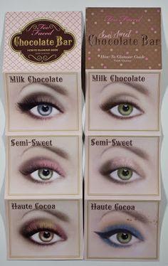 Bold Eye Makeup, Eye Makeup Tips, Smokey Eye Makeup, Beauty Makeup, Makeup Steps, Makeup Tricks, Makeup Tutorials, Chocolate Bar Makeup, Chocolate Bar Palette Looks