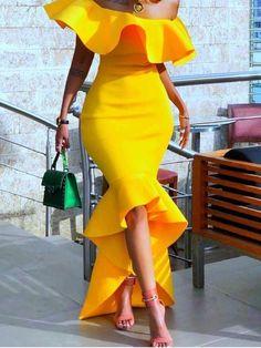 Pullover High Waist Dress Material:Air Layer Air Layer Material Silhouette:Asymmetrical Dress Length:Floor-Length Sleeve Length:Short Sleeve Neckline:Off Shoulder Combination Type:Single. Sexy Maxi Dress, Sexy Party Dress, Sexy Dresses, Fashion Dresses, Wrap Dresses, Sheath Dress, Club Dresses, Elegant Dresses, Hoco Dresses