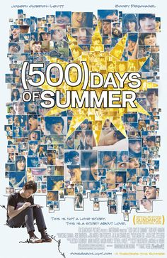 (500) Days of Summer movie poster - favorite movie ever!