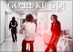 The GazettE - lol Yay for Ruki scooters!~ xD