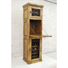 Artesano Home Decor 16 Bottle Wine Cabinet
