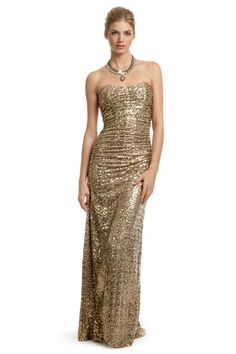 Pretty Badgley Mischka dress
