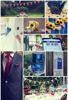 Dr Who wedding
