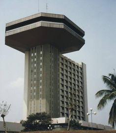 Hotel President, Yamoussoukro, Ivory Coast (1980)