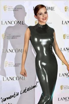 Emma Watson🔴 - Celebrities in Latex and Leather - Models Emma Watson Beautiful, Emma Watson Sexiest, Sexy Outfits, Sexy Dresses, Mode Latex, Rubber Dress, Mädchen In Bikinis, Latex Lady, Latex Girls