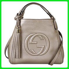 bd0650e2a45e87 Gucci Soho Leather Shoulder Handbag 336751, Brown Taupe - Shoulder bags  (*Amazon Partner