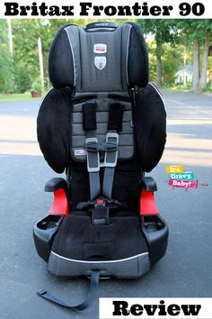 Britax Frontier 90 Harness-2-Booster Carseat Review Ethan's new big boy seat