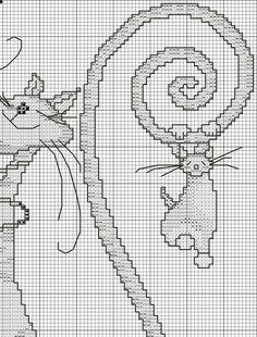 Забавные коты / Вышивка крестом / В рукоделии