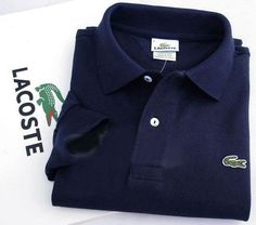 04c35484e Lacoste Long Sleeve Classic Polo Shirts in Navy  32.19