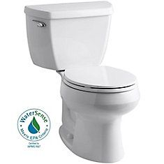 Wellworth ®  The Complete Solution 1.28 GPF Single Flush Round-Front Toilet in White