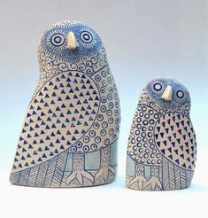 Ceramic Animals, Ceramic Birds, Ceramic Clay, Ceramic Pottery, Clay Owl, Clay Birds, Sculptures Céramiques, Art Sculpture, Sculpture Garden