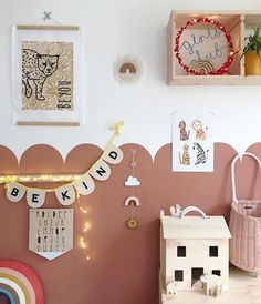 The perfect addition to any nursery, children's room or playroom it looks equally as good in a more grown up space too, this design is a firm. Baby Bedroom, Nursery Room, Girls Bedroom, Childs Bedroom, Kid Bedrooms, Decoration Inspiration, Room Inspiration, Baby Decor, Kids Decor