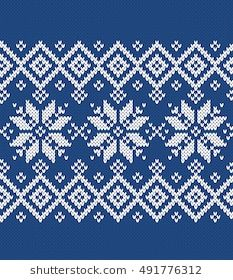 Find Winter Sweater Fairisle Seamless Knitting Pattern stock images in HD and millions of other royalty-free stock photos, illustrations and vectors in the Shutterstock collection. Fair Isle Knitting Patterns, Crochet Stitches Patterns, Crochet Chart, Knitting Designs, Knitting Stitches, Cross Stitch Designs, Cross Stitch Patterns, Tejido Fair Isle, Norwegian Knitting