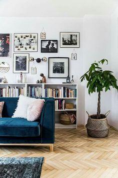 home cozy interior design living room green plants