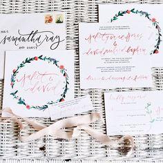 Winter Wedding Stationery | Brides