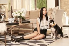 """Heart Evangelista on Instagram: """"A shoot is never complete without an appearance of this little star. 🐶🌟 @mrselfportrait 📷 @dookieducay"""" Heart Evangelista Style, Little Star, Feminine, Stars, Instagram, Outfit, Winter, Fashion, Clothing"""