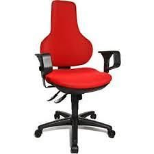 FREE COLLECTION: BEXLEYHEATH KENT -Topstar Ergonomic Fully Adjustable Chair - Red. READY ASSEMBLED! READY TO GO!