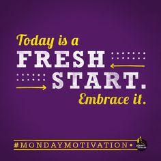 Okay, Monday, show us what you've got. #MondayMotivation